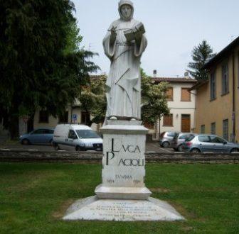 statua luca pacioli